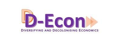 image shows banner heading of the d-econ blog